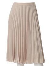《INED》ウエストゴムプリーツスカート