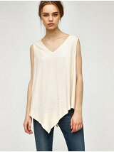 A LINE SLEEVELESS TOP