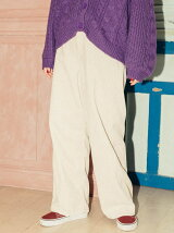 Lee CORDUROY WIDE PANTS