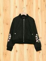花刺繍MA1