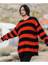 Slimane border knit