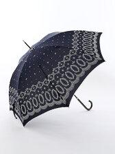 レース柄 長傘