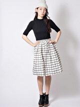 MEMORY CHECK skirt