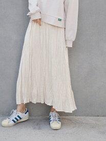 【SALE/50%OFF】179/WG サテンロングスカート イチナナキューダブリュジー スカート ロングスカート ホワイト ブラック