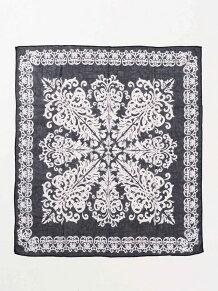 モロッコタイル柄スカーフ