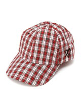 PLAID 6PANEL CAP
