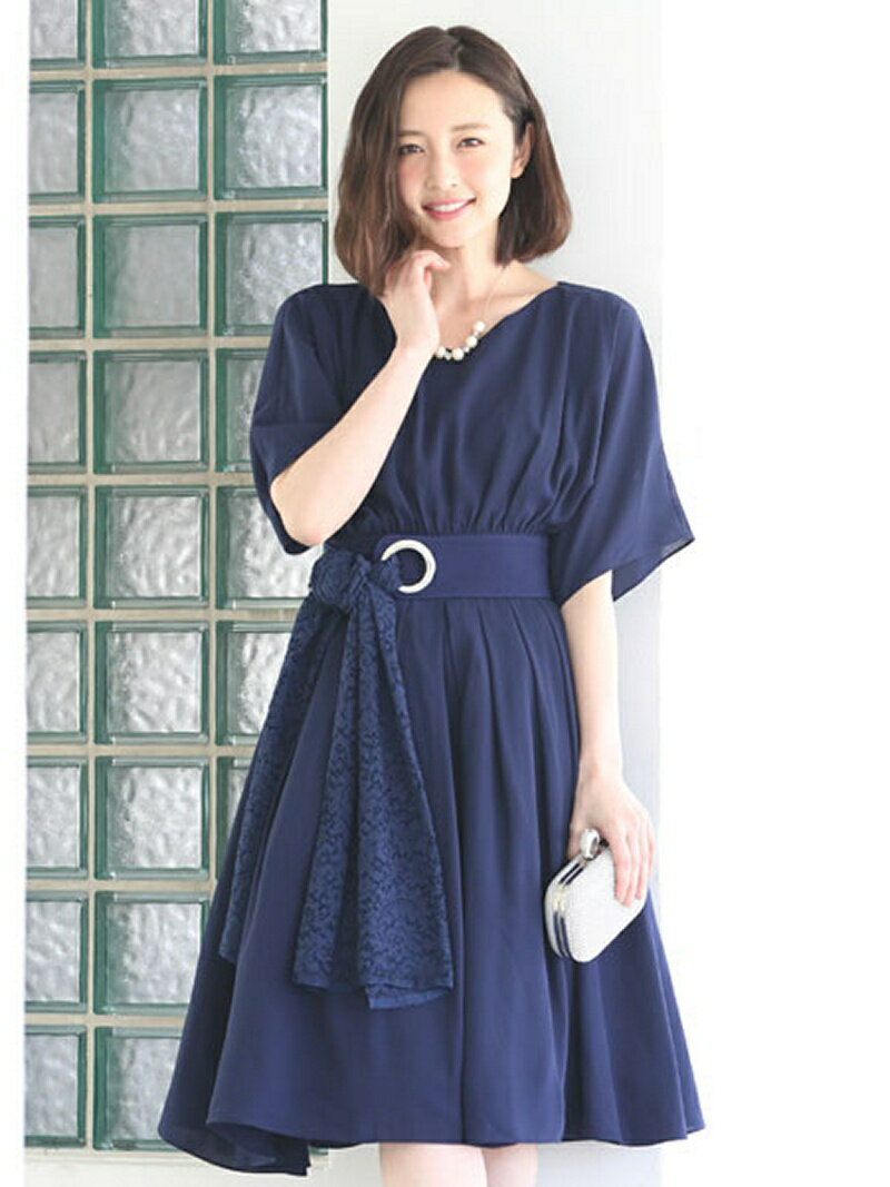 【SALE/31%OFF】Dress Lab Dress Lab/フレアスリーブワンピース クリーム ワンピース【RBA_S】【RBA_E】【送料無料】