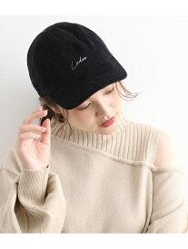【SALE/70%OFF】ViS ロゴコーデュロイキャップ ビス 帽子/ヘア小物 キャップ ブラック ブラウン ベージュ