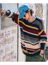 Creed border knit
