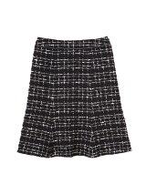 ◆大きいサイズ◆ファンシーツイードスカート
