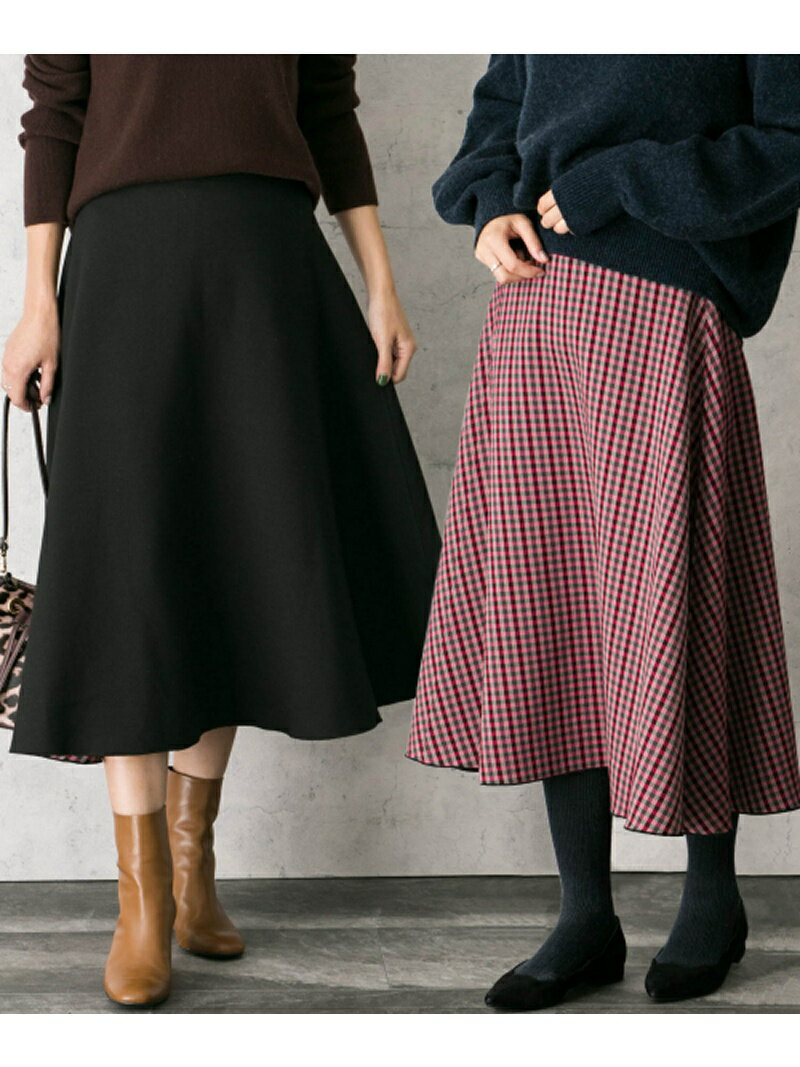 ROSSO リバーシブルミディスカート アーバンリサーチロッソ スカート【送料無料】