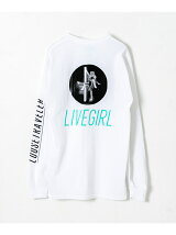 LOOSE TRAVELER LIVE GIRL LONG-SLEEVE T-SHIRTS