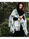 【SALE/50%OFF】niko and... (W)OR2WAYチェックストール ニコアンド ファッショングッズ ストール ホワイト グリーン…