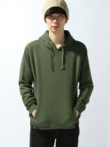 SHIRRING SWEAT HOODIE