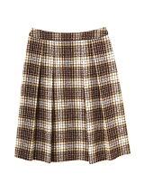 ◆大きいサイズ◆ループチェックツイードスカート