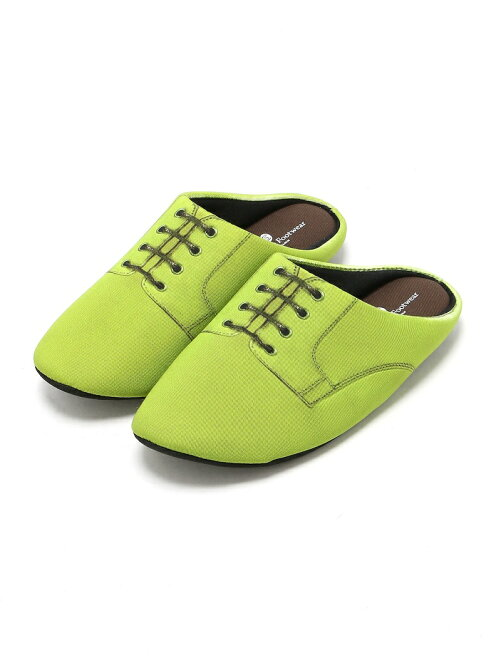 THE HOUSE FOOTWEAR/PLAIN TOE-GREEN-L