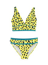 PIPED BIKINI LEOPARD