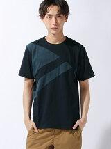 【BROWNY】(M)パターン切替Tシャツ