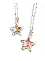 Flower star necklace
