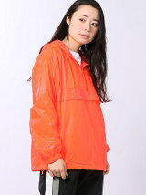 SEE-THROUGH ANORAK