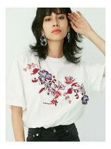 EMBROIDERY ORIENTAL Tシャツ