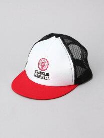 FRANKLIN&MARSHALL/(U)エンブレムメッシュキャップ ヌーディージーンズ / フランクリンアンドマーシャル 帽子/ヘア小物【送料無料】