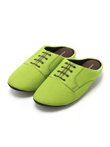 THE HOUSE FOOTWEAR/PLAIN TOE-GREEN-M