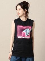 【別注】<MTV>ノースリーブプリントTシャツ