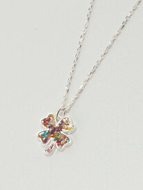 rehacer Flower Clover necklace レアセル アクセサリー【送料無料】
