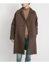FREEMANS SPORTING CLUB JP WORSTED WOOL OVER COAT