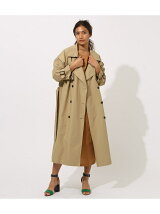 VOLUME TRENCH COAT