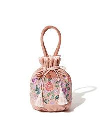 Francfranc ANNA SUI 巾着バッグ フランフラン バッグ エコバッグ/サブバッグ ピンク