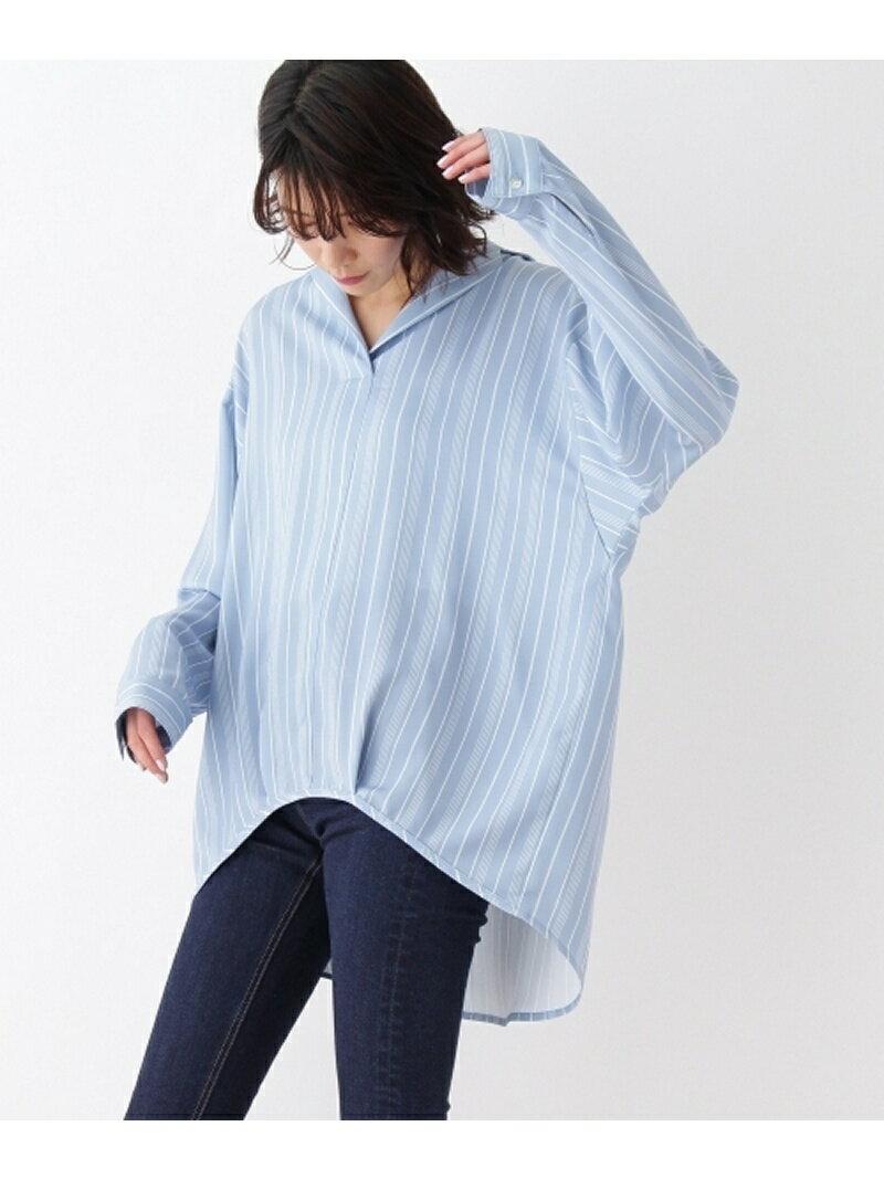 【SALE/70%OFF】OZOC テーラーカラースキッパーシャツ オゾック シャツ/ブラウス【RBA_S】【RBA_E】