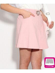 ★ニコラ掲載★クリアベルト付スカート