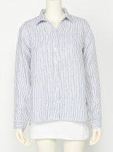 フレンチリネン2WAYシャツ