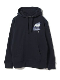 【SALE/40%OFF】BEAMS T 【SPECIAL PRICE】BEAMS T / Smile Fin Hoodie ビームスT カットソー パーカー ネイビー ブラック