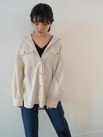 【SALE/30%OFF】179/WG フラップポケット付きビッグシャツ イチナナキューダブリュジー シャツ/ブラウス 長袖シャツ ホワイト レッド