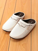 THE HOUSE FOOTWEAR/LOAFERS-WHITE-M