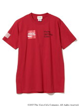 Coca-Cola by BEAMS / プリント Tシャツ ②