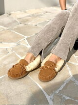 (W)ALPINE SHEEPSKIN モカシン