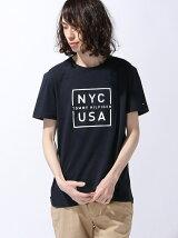 (M)コットンジャージクルーネックTシャツ