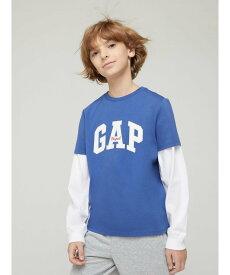 【SALE/24%OFF】GAP (K)JAC ORIG LOGO ギャップ カットソー キッズカットソー ブルー イエロー