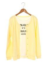 Petit Fleur SET2点 Tシャツ×カーディガン