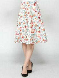 【SALE/50%OFF】Dear Princess/3Dプリント花柄フレアスカート ディアプリンセス オンラインショップ スカート【RBA_S】【RBA_E】【送料無料】