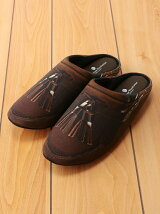 THE HOUSE FOOTWEAR/TASSEL LOAFERS-BROWN-L