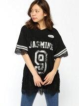 【JUNIOR SWEET】(L)レースユニフォームBIGTシャツ