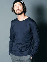 WASHABLE WOOL PKT C/N L/S