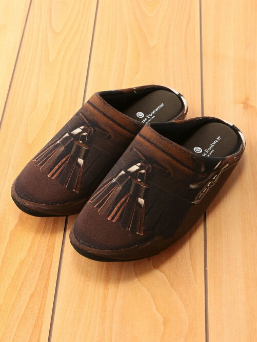 THE HOUSE FOOTWEAR/TASSEL LOAFERS-BROWN-M