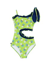 BIG BOW SWIMSUIT BOTTLE CAP PATTERN