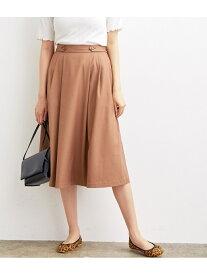 【SALE/60%OFF】ViS サイドタックフレアスカート ビス スカート スカートその他 ブラウン ブラック ベージュ